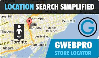 GWebPro Store Locator