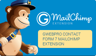 Gwebpro Contact Form 7 MailChimp Extension