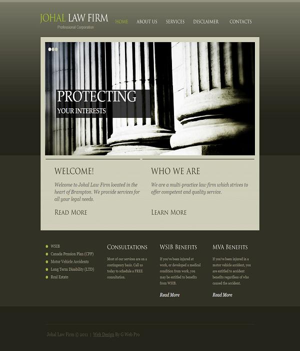 johal law firm case study