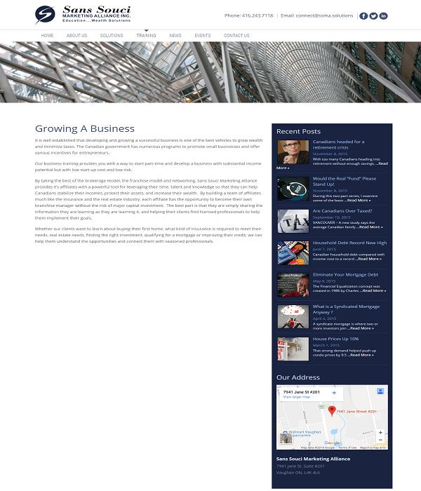 San Souci Marketing Alliance Inc. 3