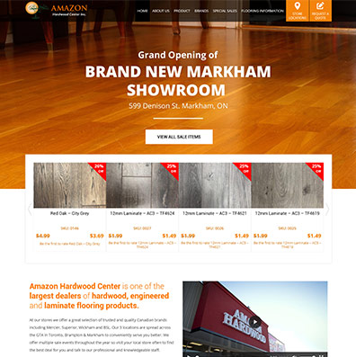 Amazon Hardwood canada case study