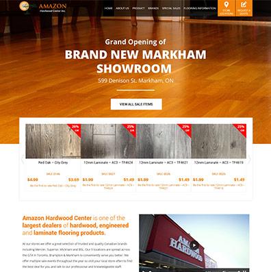 Amazon Hardwood canada case study