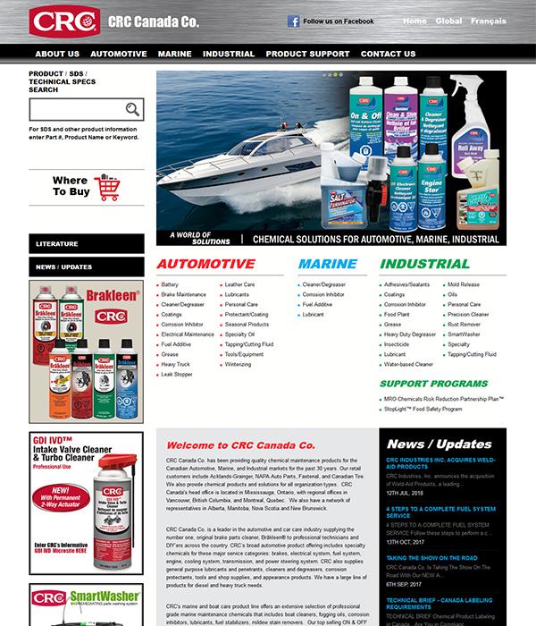 Website %