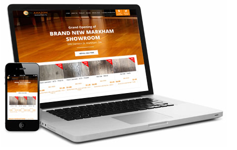 Amazon Hardwood Responsive Site