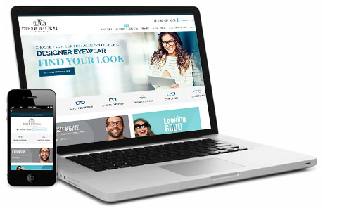 Clear Optical Responsive Site