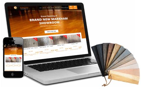 Amazon Hardwood Responsive Site