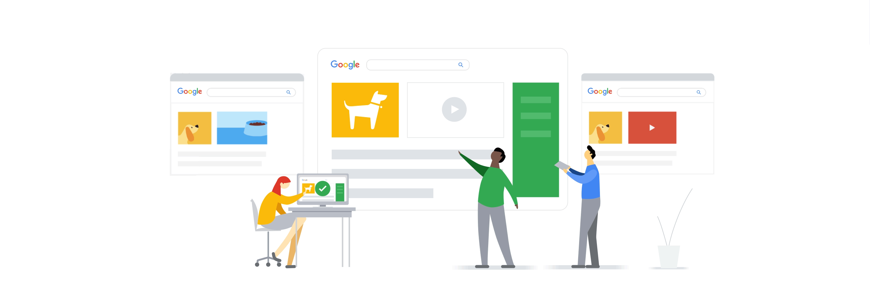 What Happens When a Search Is Performed