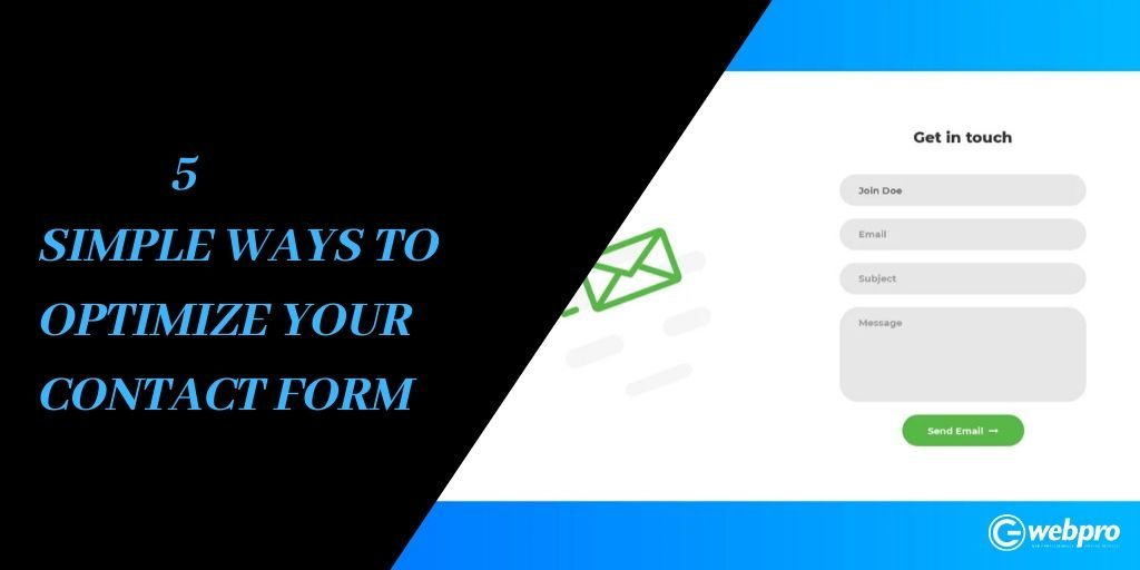 Contact form optimization tips.